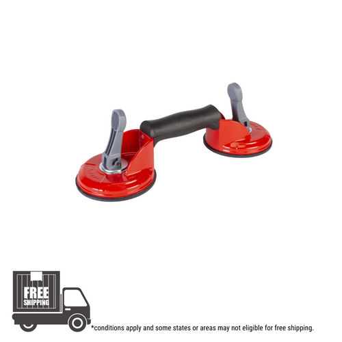 Rubi Rough Surface Double Suction Cup