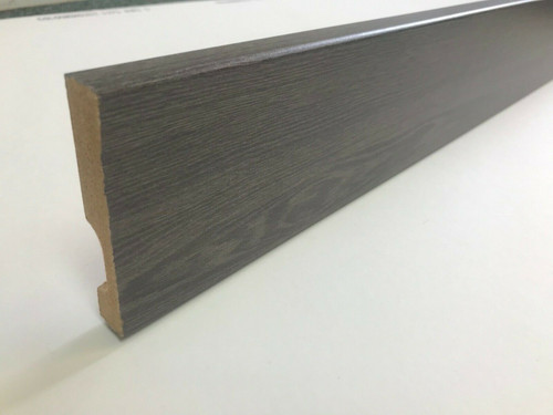 92mm Grey Millennium Oak Bullnose Architrave/Skirting Boards