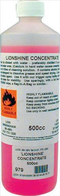 Lionshine Glass Cleaner Concentrate 500cc