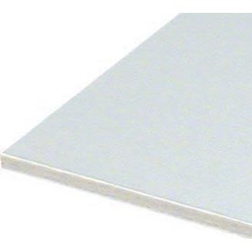 """2.2mm White Conservation Backing Board (10) 36"""" x 48"""""""