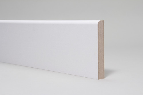 119mm x 18mm x 4.4mtrs Bullnose Skirting Board