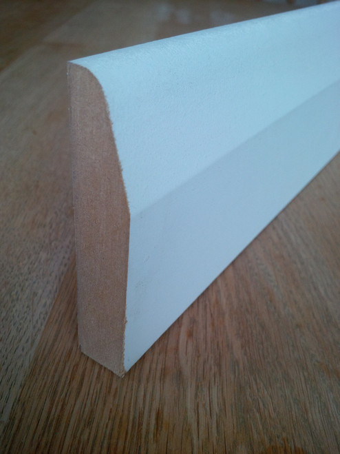 119mm x 18mm x 4.4mtrs Chamfered & Rounded Skirting Board