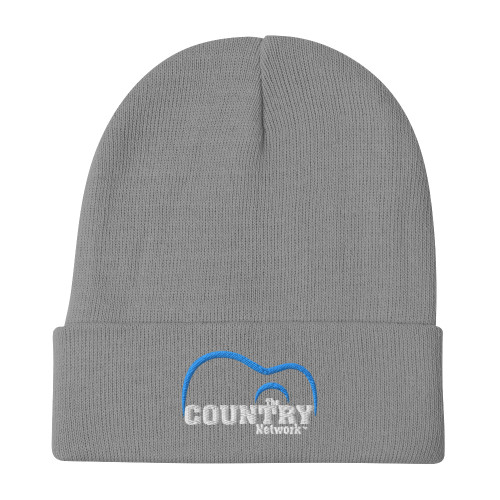 The Country Network Embroidered Beanie