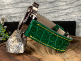 Alligator Watch Band - Glazed Augusta