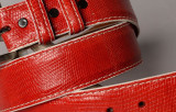 Lizard Belt - Red