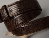 Lizard Belt - Brown