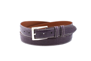 Lizard Belt - Purple