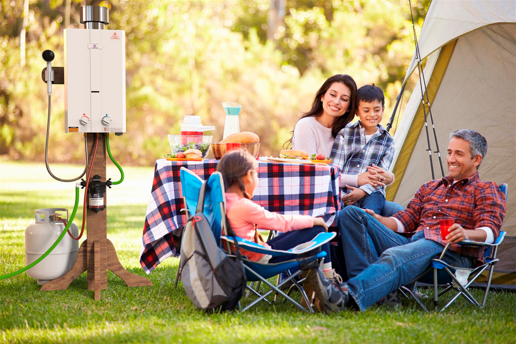 Eccotemp L10 Portable Outdoor Tankless Water Heater Lifestyle