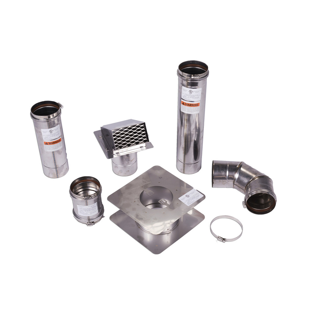 "Z-Flex 4"" Horizontal Venting Kit"