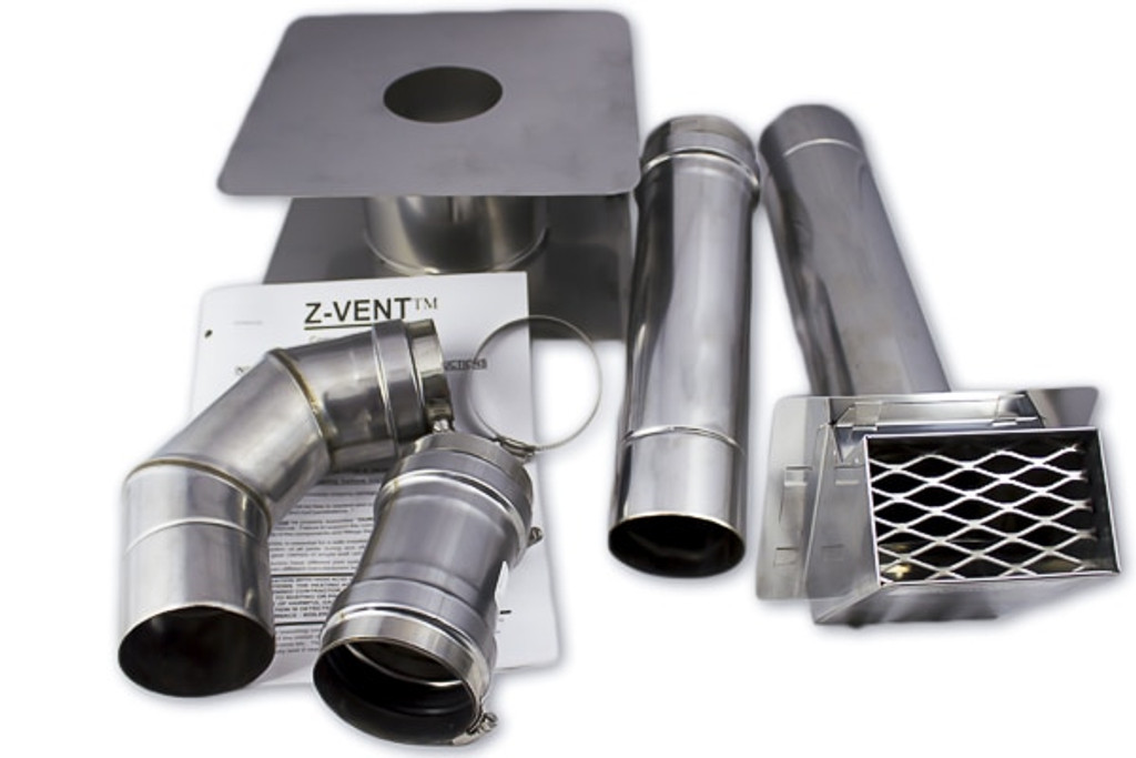 "Eccotemp 3"" Horizontal Vent Kit"