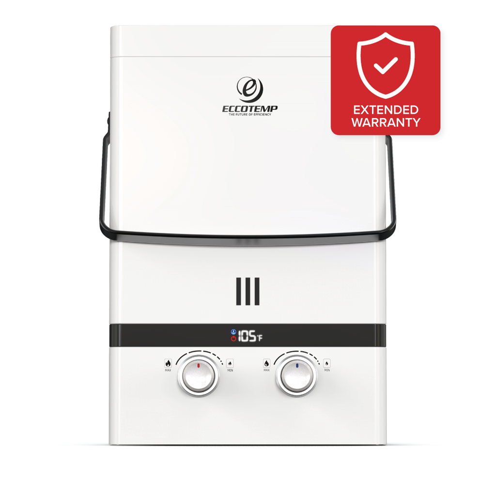 Protection Plans for Luxé Portable Tankless Water Heaters