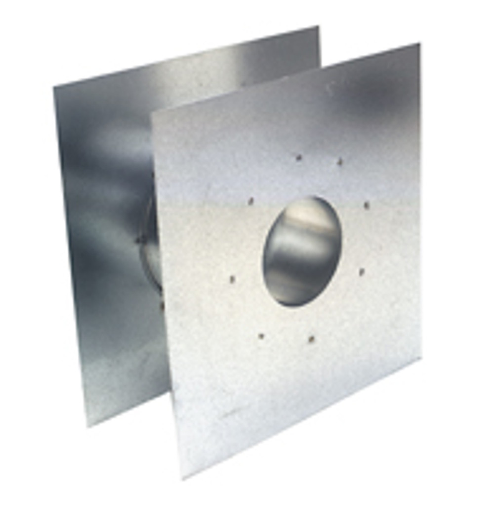 "Eccotemp  3"" Adjustable Wall Thimble Side View"