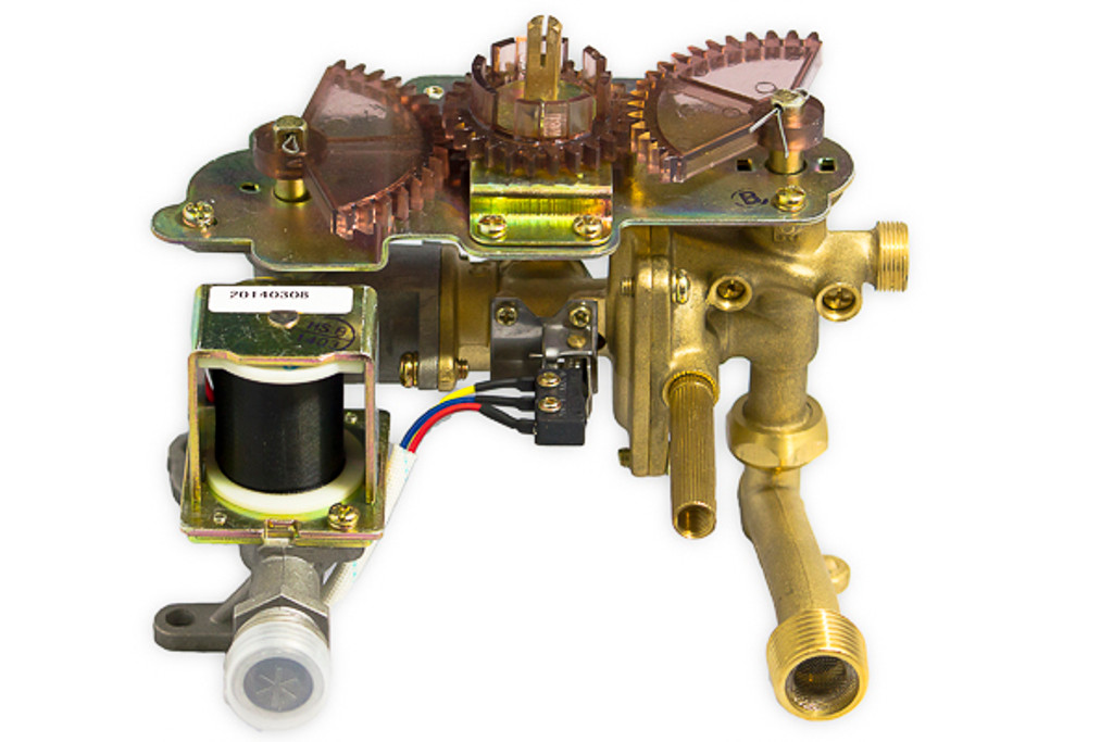 L7 Gas/Water Valve Assembly Alternate View 1