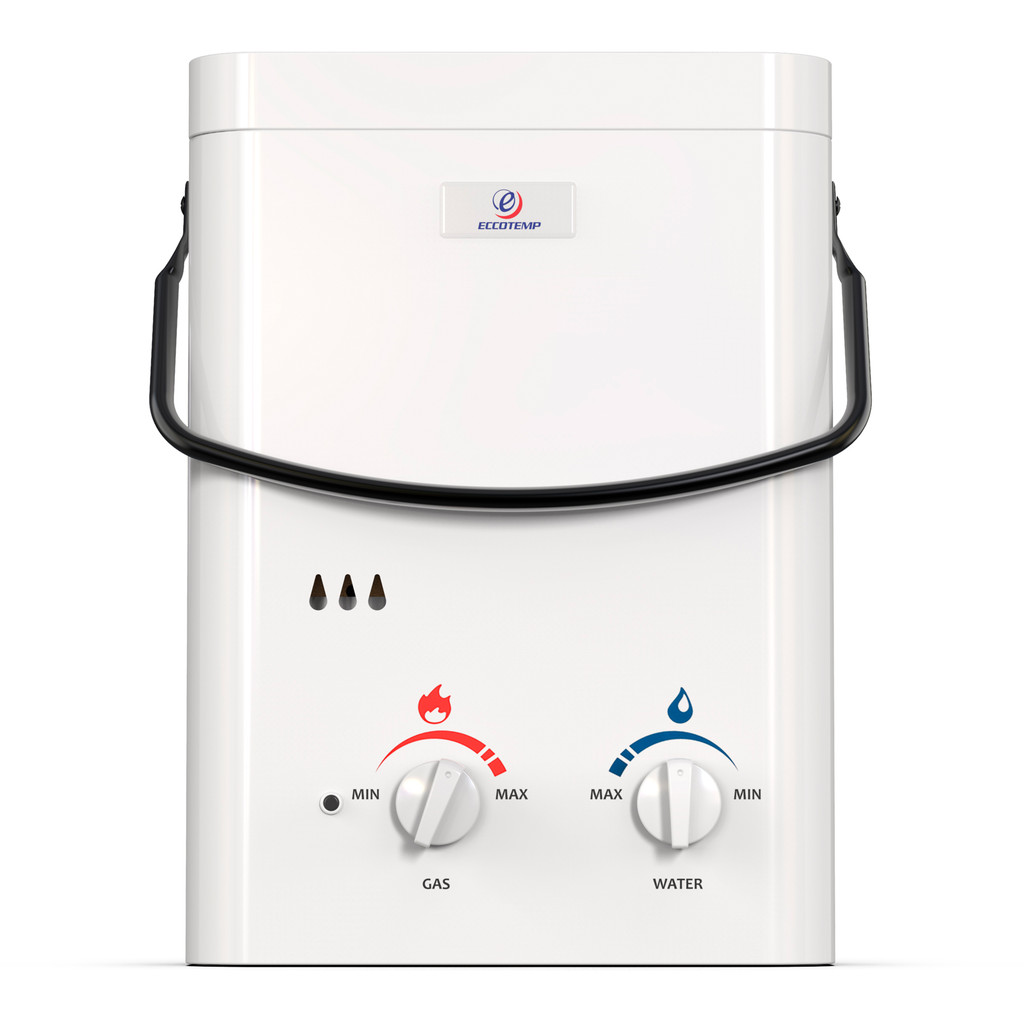 Eccotemp L5 Portable Outdoor Tankless Water Heater Front View