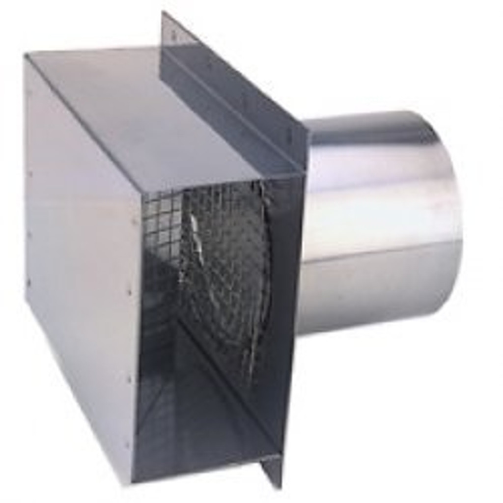 """4"""" Vent Termination Box Side View"""