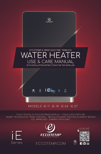 iE Series Manual Cover