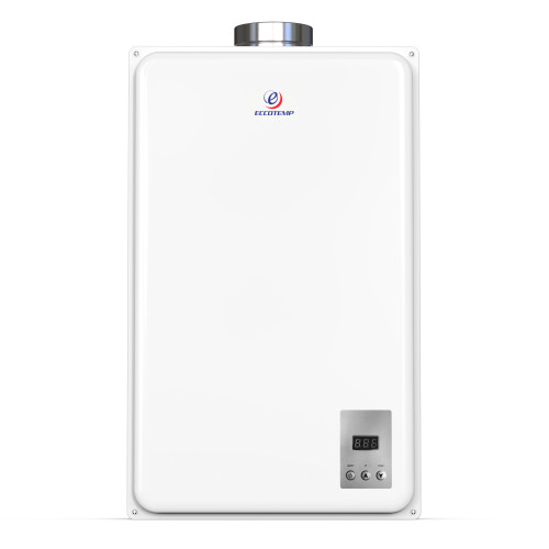 Eccotemp 45HI Indoor 6.8 GPM Liquid Propane Tankless Water Heater Front View