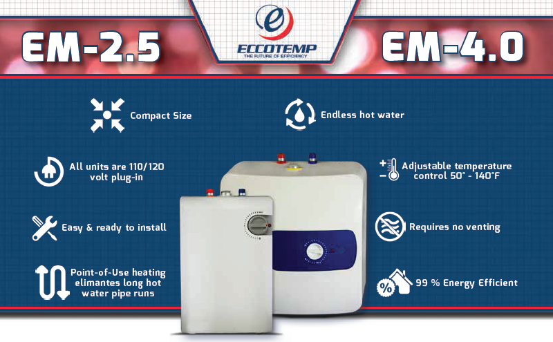 When And Where To Install A Mini Tank Water Heater