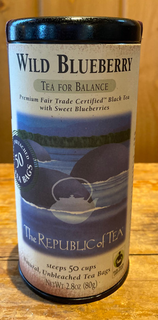 Wild Blueberry Black Fair Trade