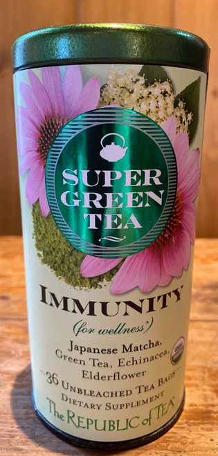 Organic SuperGreen Immunity Green Tea