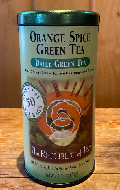 Orange Spice Green