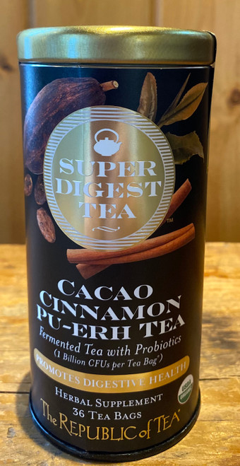Organic Cacao Cinnamon Pu-Erh SuperDigest Tea