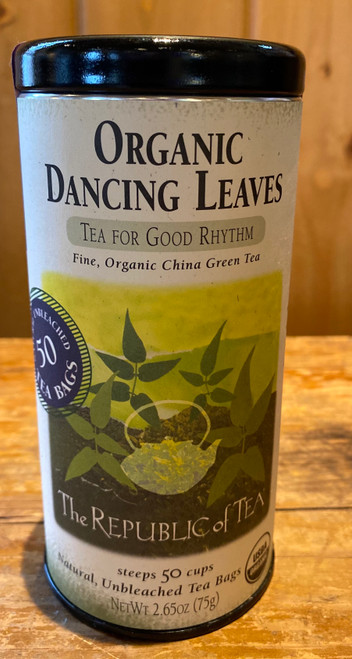 Organic Dancing Leaves Green Tea