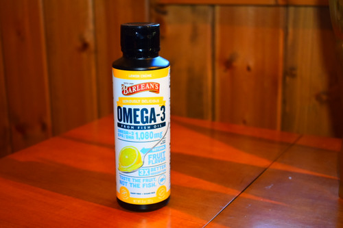 Seriously Delicious Omega-3 - Lemon Cream 8 oz