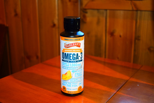 Seriously Delicious Omega-3 - Mango Peach 8 oz