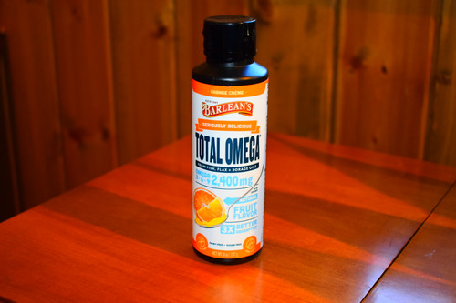 Seriously Delicious Omega-3 - Orange Cream 8 oz