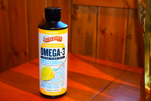 Seriously Delicious Omega-3 - Lemon Cream 16 oz