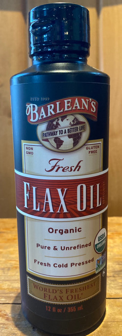Fresh Flax Oil - 12 oz
