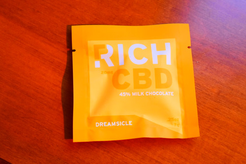 CBD Chocolate - Dreamsicle 45% milk chocolate