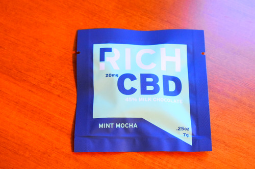 CBD Chocolate - Mint Mocha 45% milk chocolate
