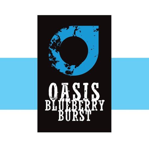 Oasis Blueberry Burst 50/50 Eliquid