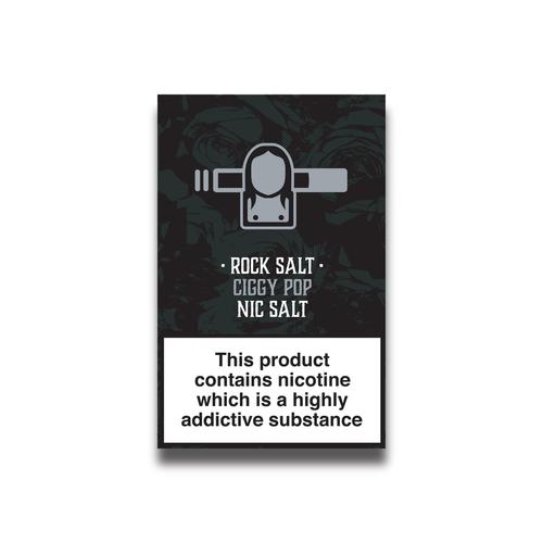 Tobacco Nicotine Salts Eliquid - 10ml
