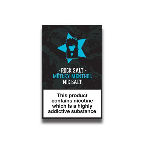Menthol Nicotine Salts Eliquid - 10ml