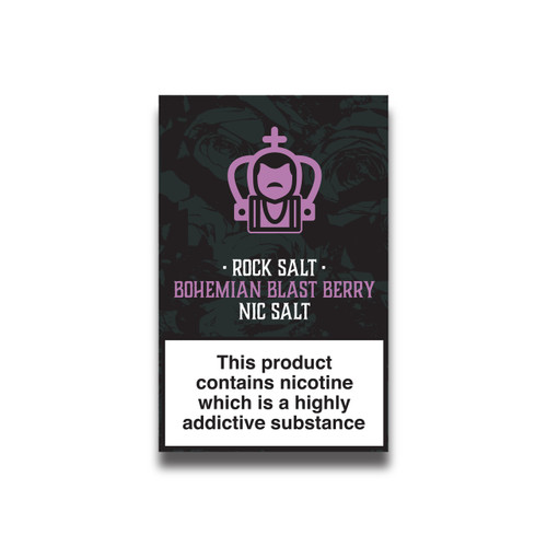 Mixed Berry Nicotine Salts Eliquid - 10ml