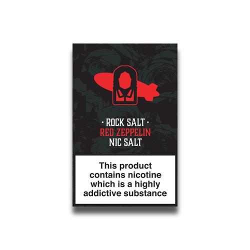 Red Fruit and Menthol Nicotine Salts Eliquid - 10ml