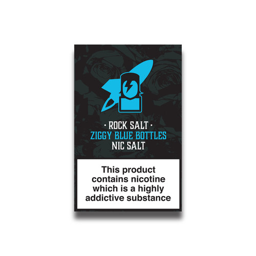Blue Bottle Sweets Nicotine Salts Eliquid - 10ml