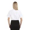 White - Back, 18CV301 Van Heusen Ladies' Short Sleeve Oxford Shirt -T-shirt.ca