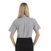 Greystone - Back, 18CV301 Van Heusen Ladies' Short Sleeve Oxford Shirt -T-shirt.ca