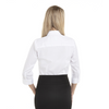 White - Back, 18CV304 Van Heusen Ladies' ¾ Sleeve Dress Twill Shirt   T-shirt.ca