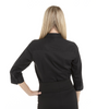 Black - Back, 18CV304 Van Heusen Ladies' ¾ Sleeve Dress Twill Shirt   T-shirt.ca