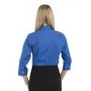 Ultra Blue - Back, 18CV304 Van Heusen Ladies' ¾ Sleeve Dress Twill Shirt   T-shirt.ca