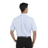 Blue - Back, 18CV314 Van Heusen Short Sleeve Oxford Shirt | T-shirt.ca