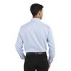 English Blue - Back, 18CV315 Van Heusen Long Sleeve Flex Stretch Shirt | T-shirt.ca