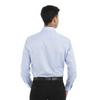 English Blue - Back, 18CV316 Van Heusen Long Sleeve Dress Twill Shirt   T-shirt.ca