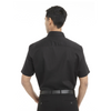 Black - Back, 18CV317 Van Heusen Short Sleeve Dress Twill Shirt | T-shirt.ca