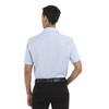 English Blue - Back, 18CV317 Van Heusen Short Sleeve Dress Twill Shirt   T-shirt.ca